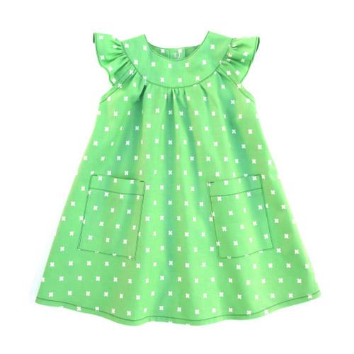 Peppa baby dress pattern