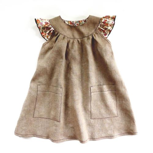 Peppa girls dress patterns for children
