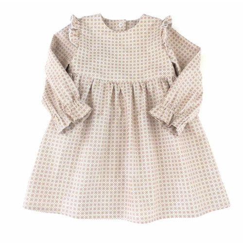 Valetta baby dress pattern from 5 Berries, kids dress pattern for toddler and little girls