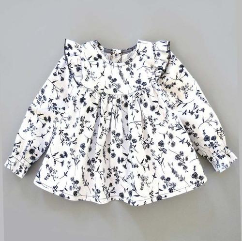 toddler girls top blouse sewing pattern