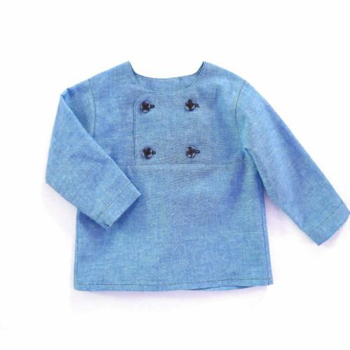 Toddler boy sewing pattern