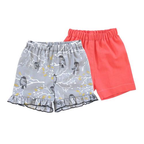 boys and girls shorts sewing pattern pdf