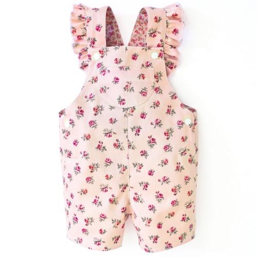 Alex short dungaree for baby, newborn, toddler, girls, boys.
