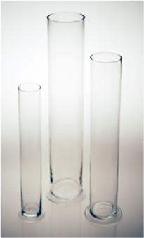 "Bigger Base Cylinder Vase 28"" Perfect for Decorative Branches"