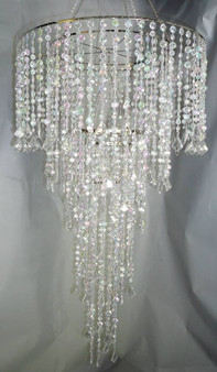 """Extra Long Beaded Chandelier Combination of 24"""" and 10"""""""