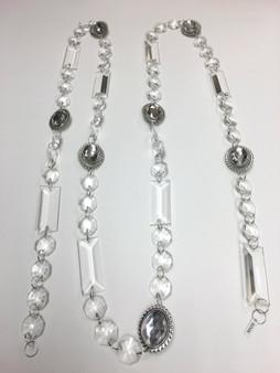 Large Acrylic Strands of Beads