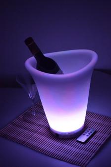 LED Champagne Bucket