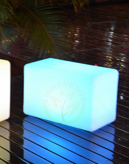 """Color Changing LED Bench 22"""""""
