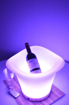 """12"""" Color Changing LED Ice Bucket"""