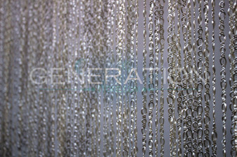 Cable Knit String Curtains - 28 Colors - Up to 20 Feet Long