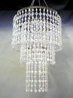 Crystal Gemstone Beaded Chandelier