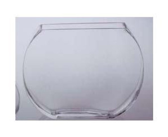 """Slim Bubble Bowl 6.5"""" x 5"""" x 2.5"""" Perfect for Various Decor Uses"""