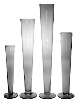 "Trumpet Vase 24"" Perfect for Flower Bouquets"