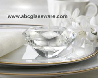 """Votive Crystal Candle Holder 2.5"""" Elegant Table Decoration"""