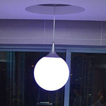 """Ceiling Led Lite Ball lamp 16"""" Inches"""