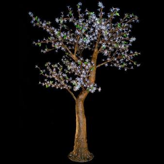 Cherry Blossom Tree 7 Feet 800 Led Lights Warm White Color Morgan Style