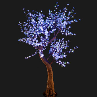 Cherry Blossom Tree 7 Feet 800 Led Lights Cool White Color Morgan Style