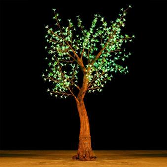Cherry Blossom Tree 7 Feet 800 Led Lights SHIFT Color Morgan Style