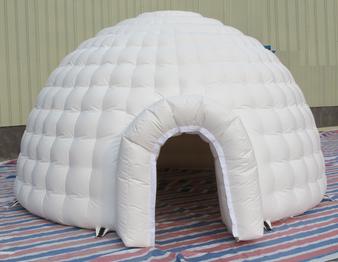 White Inflatable Igloo ten