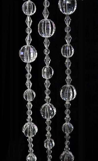Large Acrylic Strands of Beads - Beads By The Roll