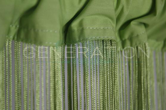 Lime Green String Curtains - 3 Feet by 9 Feet
