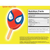 Spiderman Popsicle, 3.38 oz.  (18 Count)