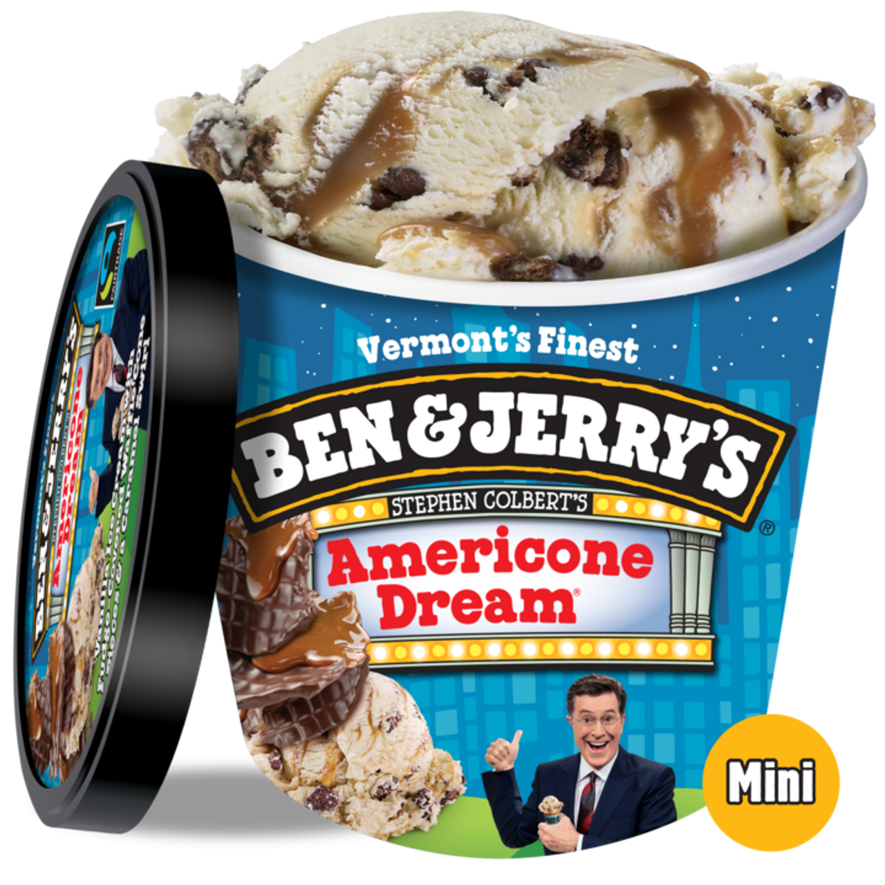 Ben Jerry S Americone Dream Stephen Colbert S Ice Cream Cups 12 Count Rocketdsd Sweeter than the bill of rights, colder than valley forge and with twice as much. ben jerry s americone dream stephen colbert s ice cream cups 12 count