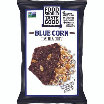 Food Should Taste Good. Blue Corn All Natural Chips, 1.5 oz. Bag (1 Count)