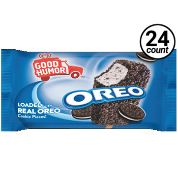 Good Humor, Oreo Cookie's N Cream Ice Cream Bar, 4 oz. (24 Count)