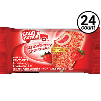 Good Humor, Strawberry Shortcake Ice Cream Bar, 4 oz. (24 Count)