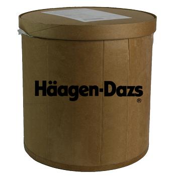 Haagen-Dazs, Strawberry Ice Cream, 2.5 Gallon Tub (1 Count)