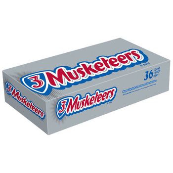 3 Musketeers, Full Size, 1.92 oz. Bars (36 Count)