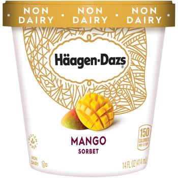 Haagen-Dazs, Mango Sorbet, Pint (1 Count)