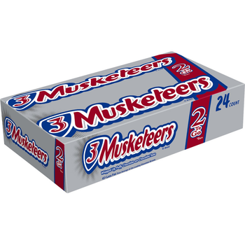 3 Musketeers, Sharing SIze, 3.28 oz. Bars (24 Count)