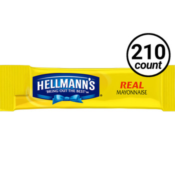 Hellman's, Real Mayonnaise, 0.38 oz. Packet (210 Count)