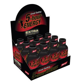 5-hour Energy, Berry Flavor Extra Strength, 1.93 oz. (12 Count)