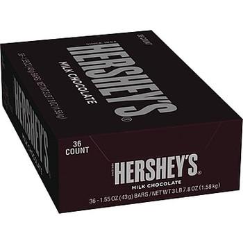 Hershey's, Milk Chocolate Bar, 1.55 oz. ( 36 Count)