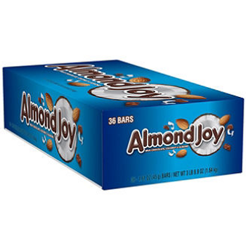 Hershey's, Almond Joy Candy Bar, 1.61 oz. (36 Count)