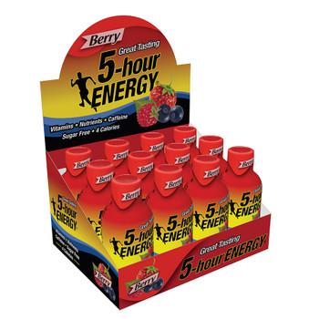 5-hour Energy, Berry Flavor, 1.93 oz. (12 Count)