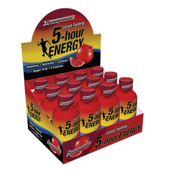 5-hour Energy, Pomegranate Flavor, 1.93 oz. (12 Count)