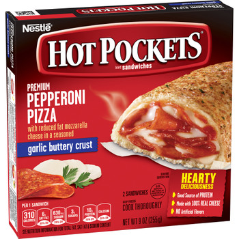 Hot Pockets, Pepperoni Pizza, 9 oz. Sandwich (1 Count)
