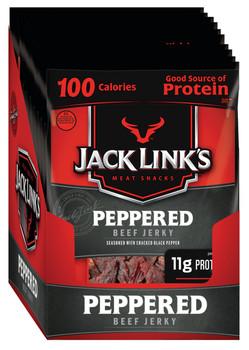 Jack Link's, Peppered Beef Jerky, 1.25 oz. Bag (10 Count)