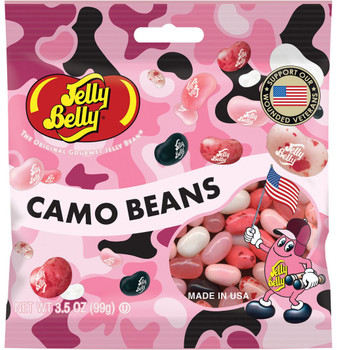 Jelly Belly, Pink Camo Beans, 3.5 oz. Bag (1 Count)