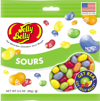 Jelly Belly, Sours, 3.5 oz. Bag (1 Count)