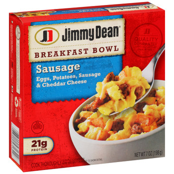 Jimmy Dean, Breakfast Bowls, Sausage, 7.0 oz. (1 Count)