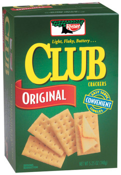Keebler, Club Crackers Original, 5.25 oz. Box (1 Count)