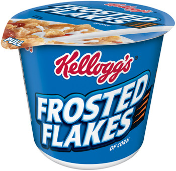 Kellogg's Cereal in a Cup, Frosted Flakes, 2.1 oz. Bowl (1 Count)