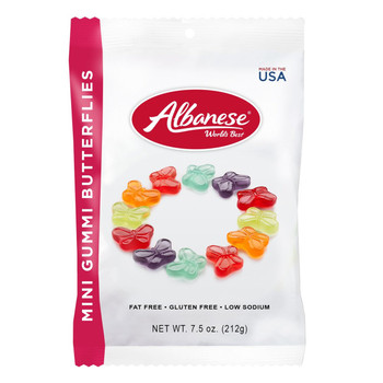 Albanese, Mini Butterflies, 7.5 oz. Peg Bag (1 Count)