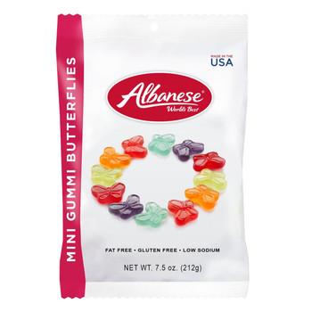 Albanese, Mini Butterflies, 7.5 oz. Peg Bag (1 Count)