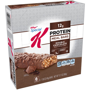 Kellogg's Special K Protein Meal Bar, Double Chocolate, 1.59 oz. Bar (8 Count)